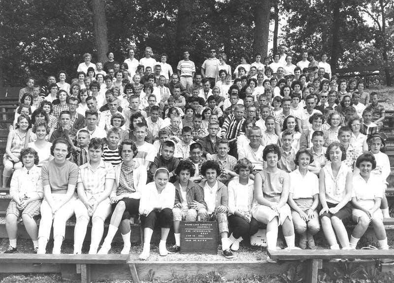 2nd Intermediate Week, June 18, 1961 Mr Mayer, Dean