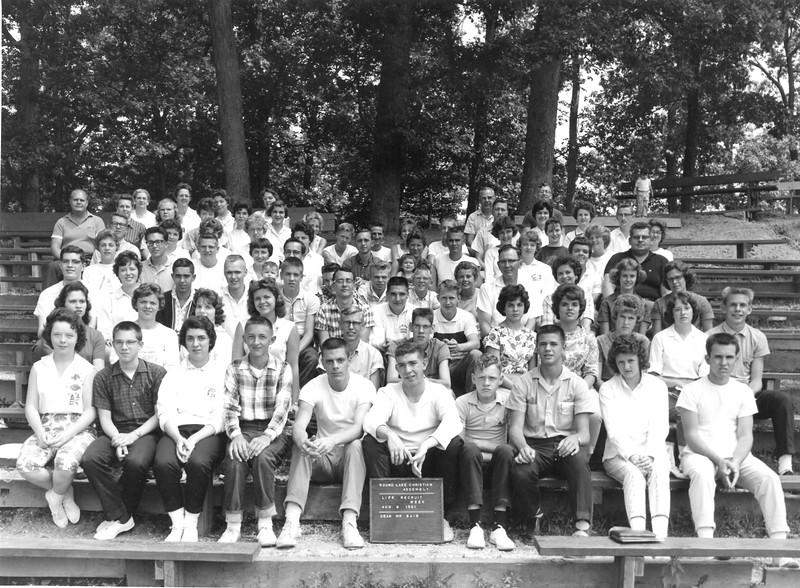 Life Recruit Week, August 6, 1961 Mr Bain, Dean