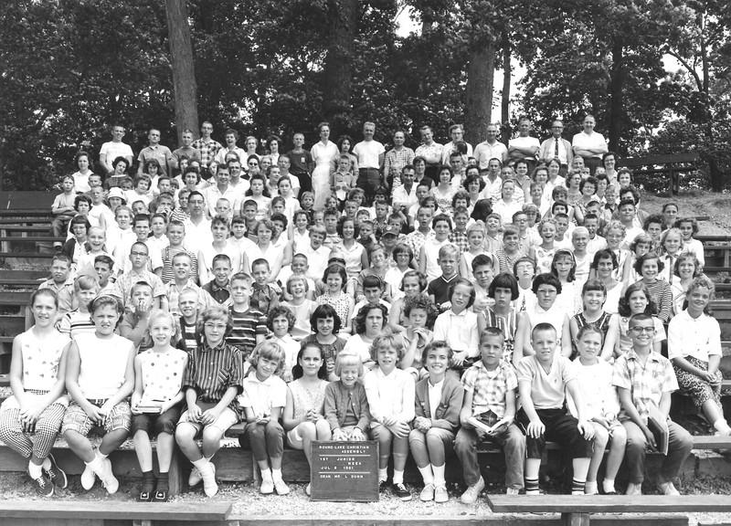 1st Junior Week, July 2-8, 1961 Lloyd B  Dunn, Dean