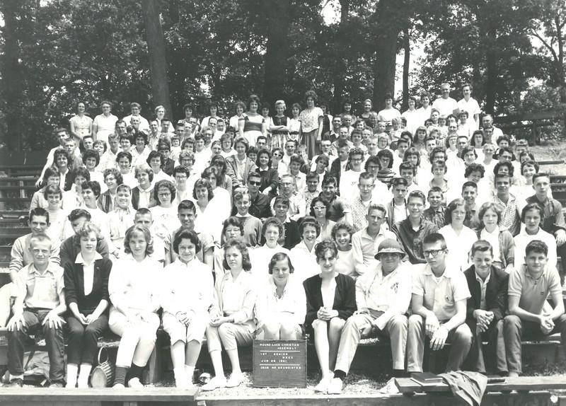1st Senior Week, June 25, 1961 Mr Neumeister, Dean