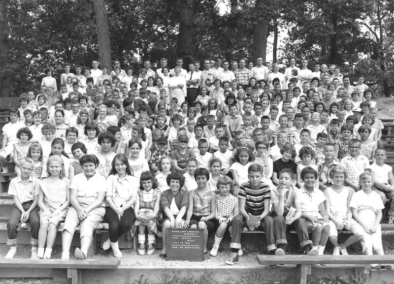 3rd Junior Week, July 16, 1961 Mr Woodstock, Dean