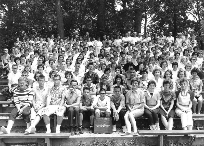 2nd Senior Week, July 23, 1961 Mr Williams, Dean
