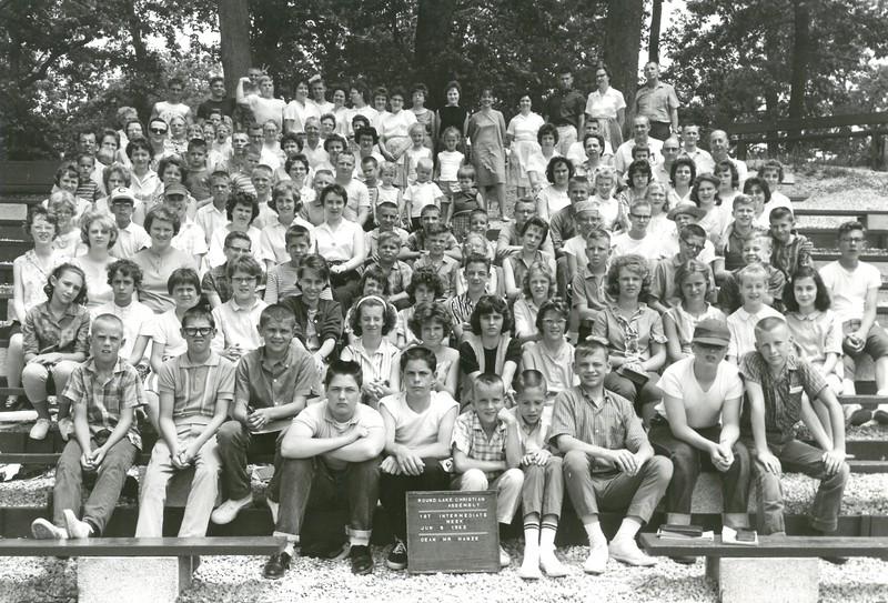 1st Intermediate, June 9-15, 1963 Bob Hanze, Dean