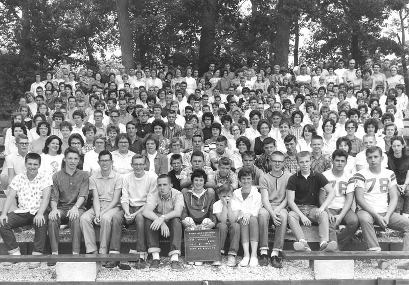 2nd Senior Week, July 21-27, 1963 Dave Williams, Dean