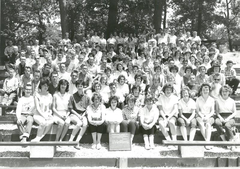 1st Senior, June 23-29, 1963 Don Neumeister, Dean