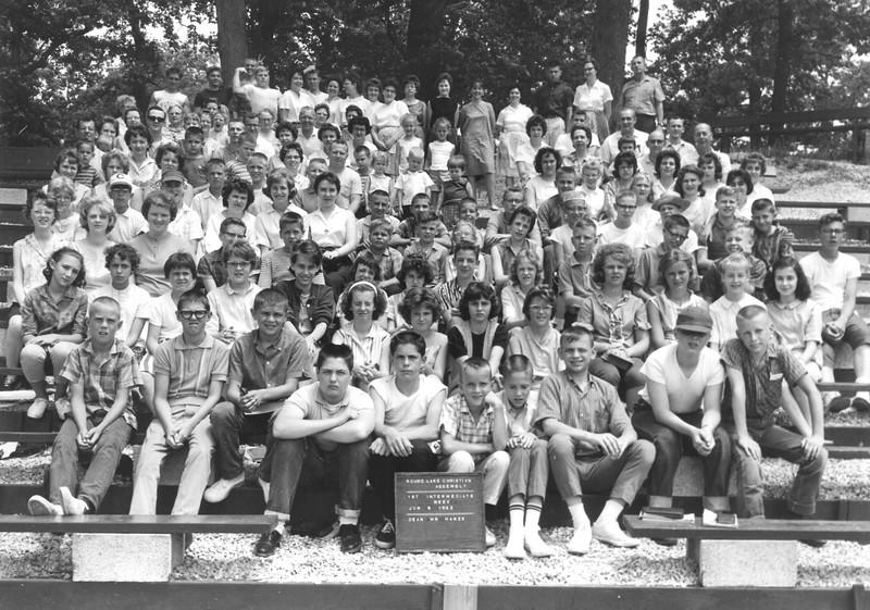 1st Intermediate Week, June 9, 1963 Mr Hanze, Dean