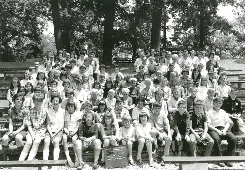 1st Junior, June 12-18, 1966 Gerald Williams, Dean