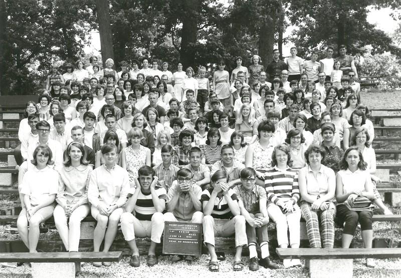 1st Senior, June 19-25, 1966 Don Neumeister, Dean