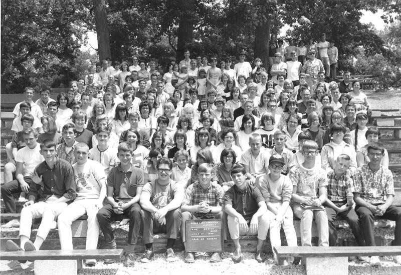2nd Senior Week, July 17  1966 Mr Wesner, Dean