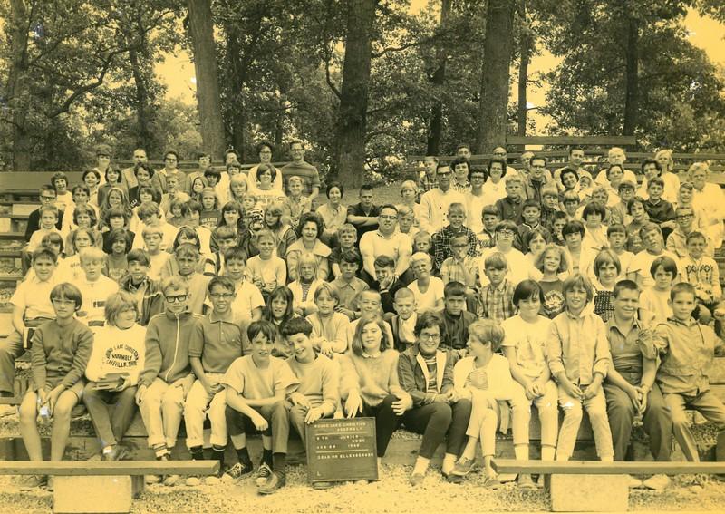 5th Junior Week, Aug 25-31, 1968 R  Ellenberger, Dean