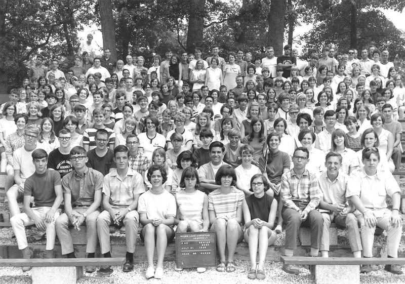 2nd Senior Week, July 21-27, 1968 Mr Huron, Dean
