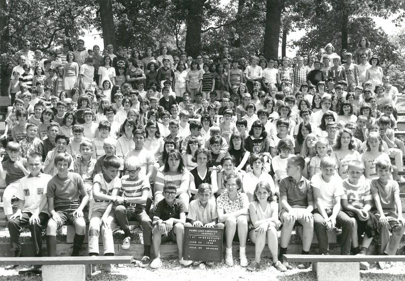 1st Intermediate Week, June 30-July 6, 1968 Ira Brandon, Dean