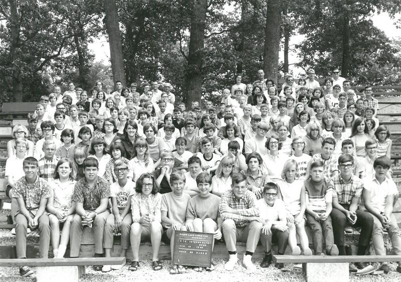 5th Intermediate Week, August 18-25, 1968 Bob Hanze, Dean