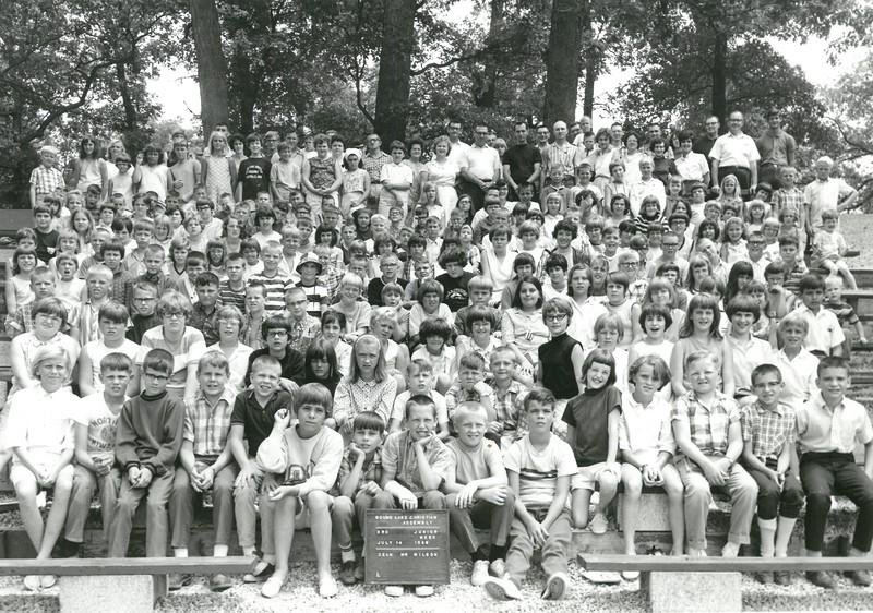 3rd Junior Week, July 14-20, 1968 Ed Wilson, Dean