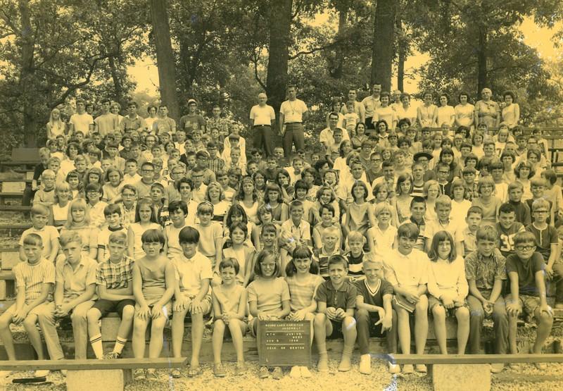 4th Junior Week, August 4-10, 1968 Drury Benton, Dean