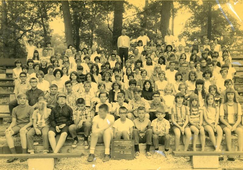 2nd Intermediate Week, July 7-13, 1968 George Walker, Dean Paul Brandon, Co-Dean