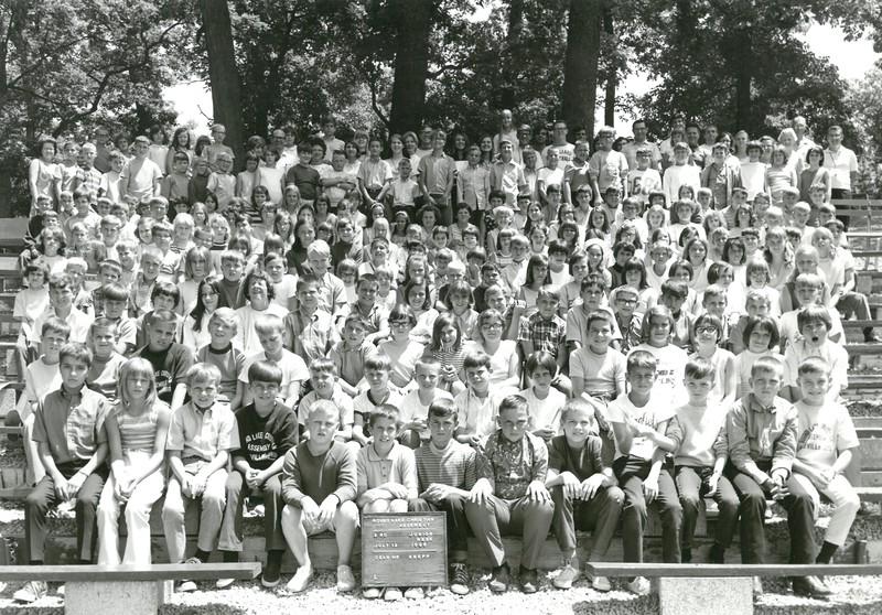3rd Junior Week, July 13-19, 1969 Hugh Snepp, Dean