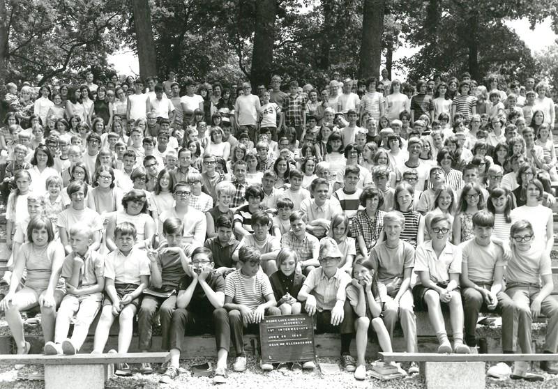 1st Intermediate Week, June 29-July 5, 1969 Robert Ellenberger, Dean