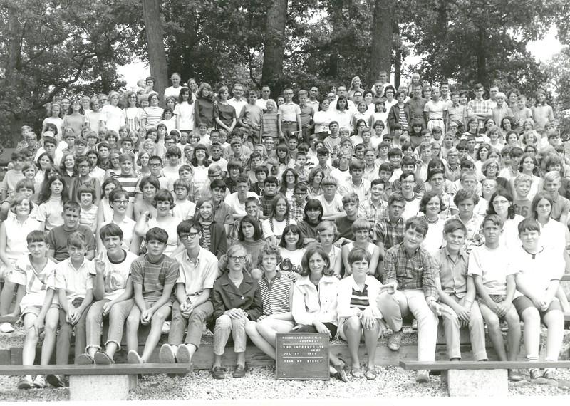 3rd Intermediate Week, July 27-August 2, 1969 Sherriell Storey, Dean