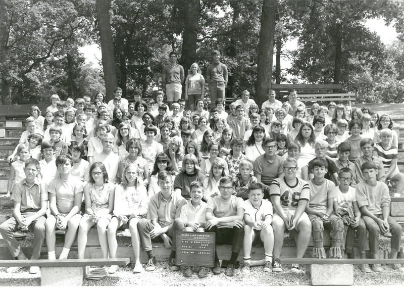5th Intermediate Week, August 24-30, 1969 Gary Jenkins, Dean