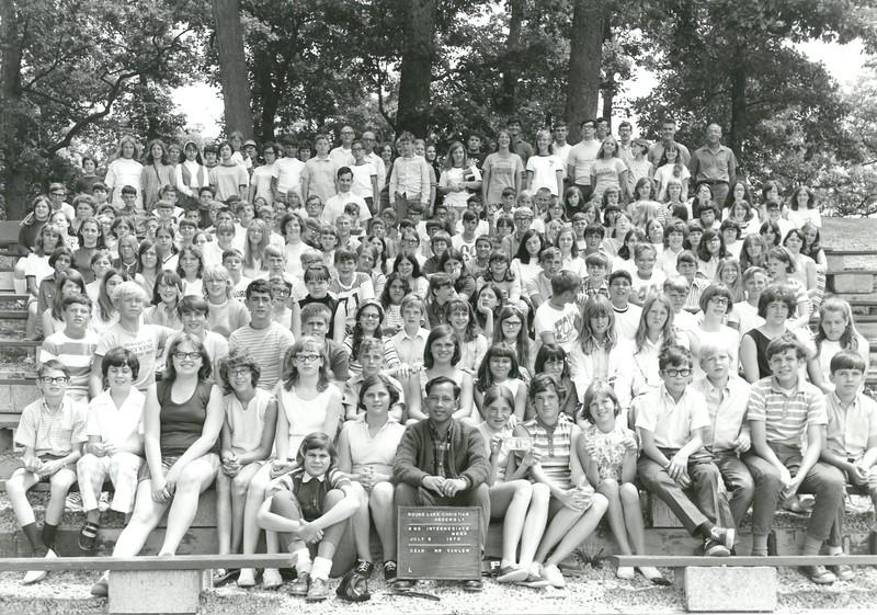 2nd Intermediate Week, July 5-11, 1970 Robert Vanlew, Dean