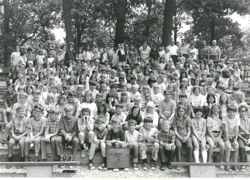 4th Junior Week, August 9-15, 1970 Ken Parrott, Dean