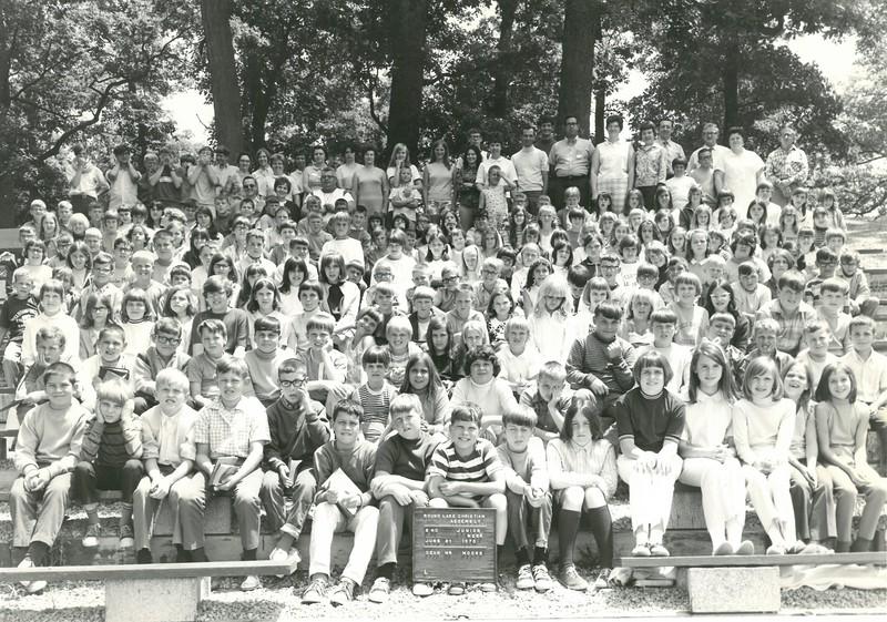 2nd Junior Week, June 21, 1970  Mr Moore, Dean