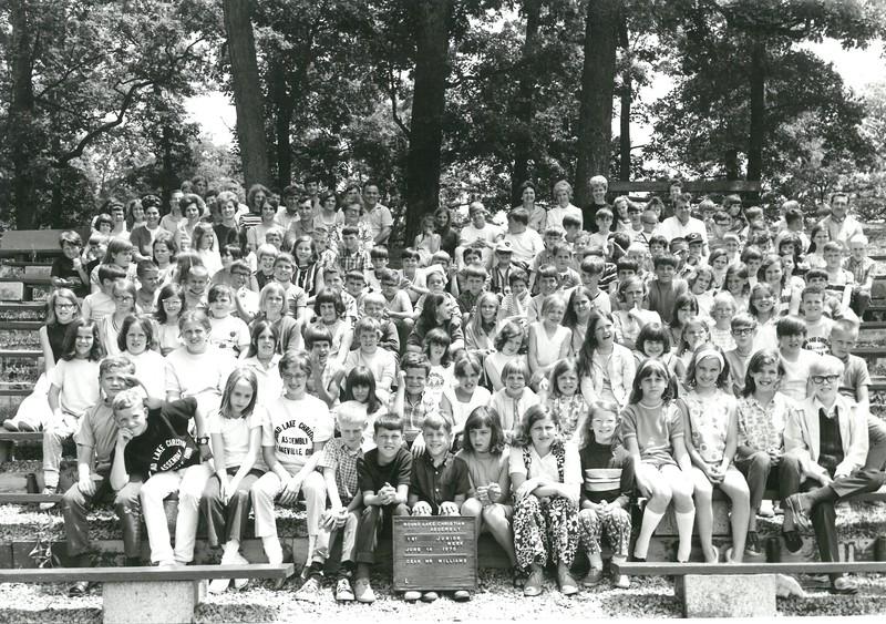 1st Junior Week, June 14-20, 1970 Gerald Williams, Dean