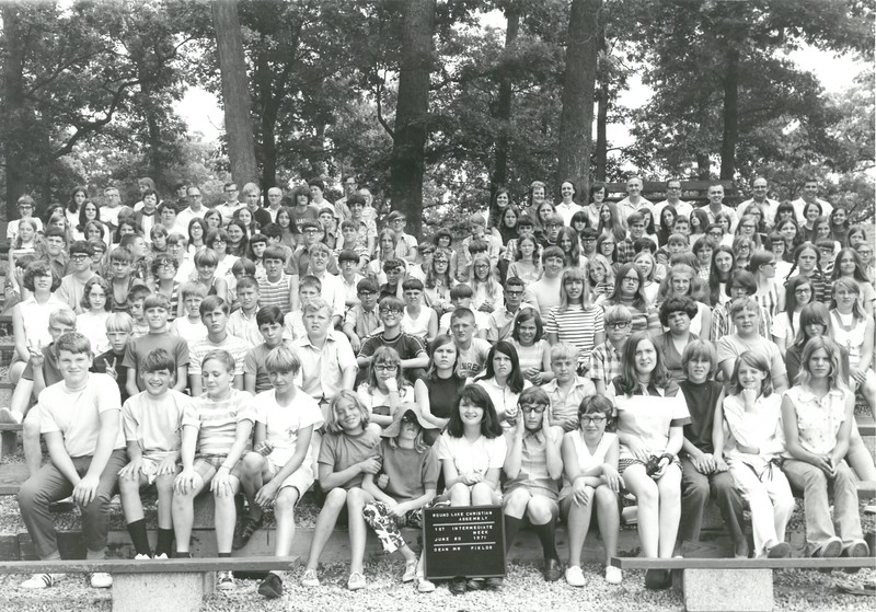1st Intermediate Week, June 20-26, 1971 Art Fields, Dean