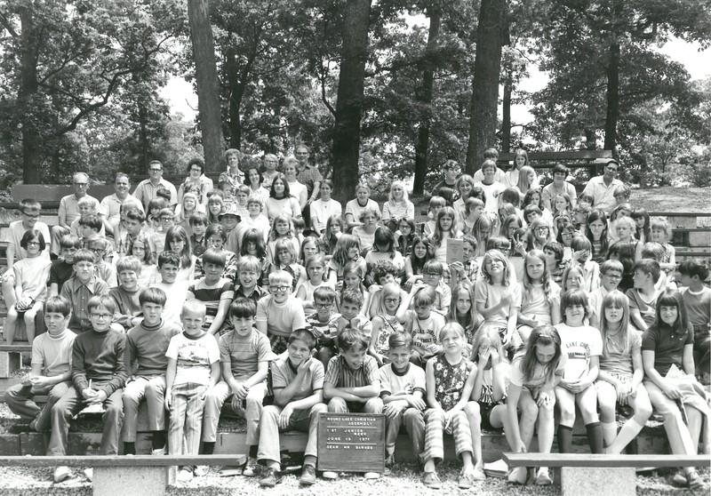 1st Junior Week, June 13-19, 1971 Robert Barnes, Dean