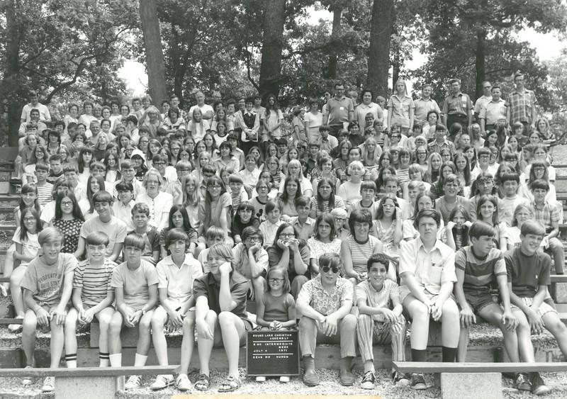 2nd Intermediate Week, July 4-10, 1971 Rod Huron, Dean