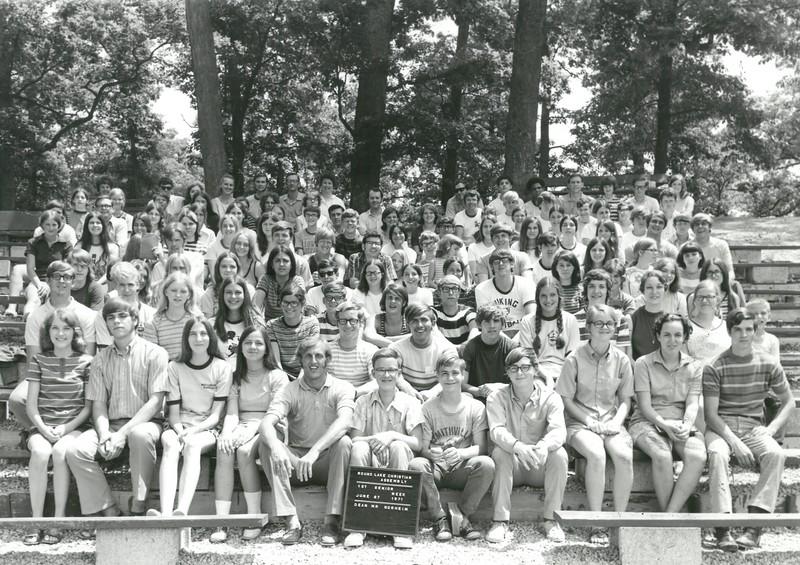 1st Senior Week, June 27-July 3, 1971 Neil Norheim, Dean