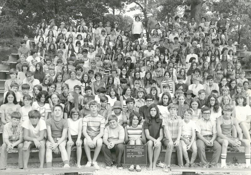 4th Intermediate Week, August 13, 1972, Mr Nepp, Dean-a