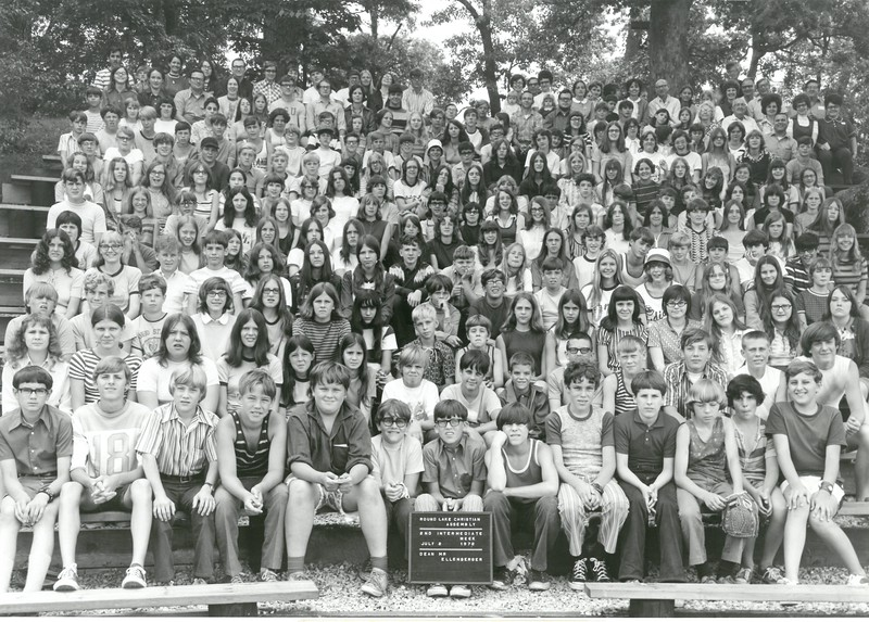 2nd Intermediate Week, July 2-8, 1972 Robert Ellenberger, Dean