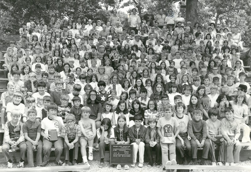 3rd Junior Week, August 6, 1972 Mr Williams Dean-a