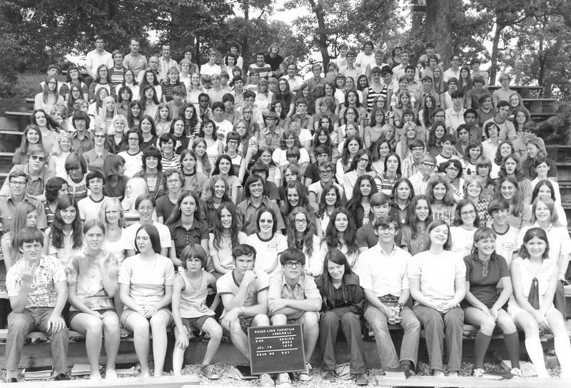 2nd Senior Week, July 16-22, 1972 Art Guy, Dean
