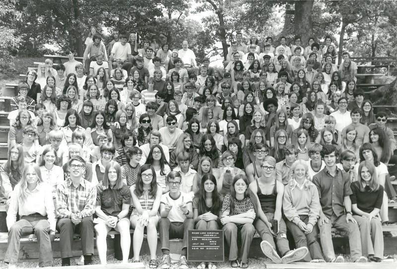 3rd Senior Week, July 30-August 5, 1972 Ron Buscheck, Dean