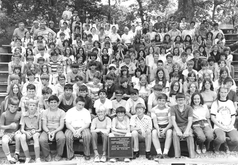 1st Intermediate Week, June 18-24, 1972 Art Fields, Dean