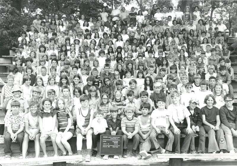 2nd Junior Week, July 8-14, 1973 Robert Muter, Dean