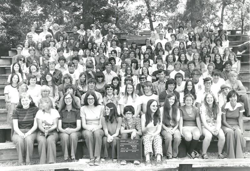 2nd Senior Week, July 15-21, 1973 Dan Noe, Dean