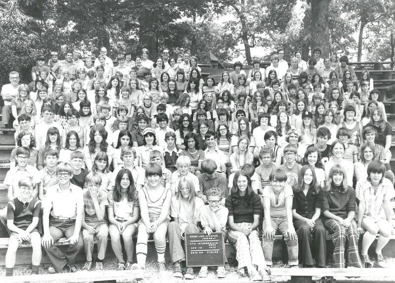 4th Intermediate Week, August 12-18, 1973