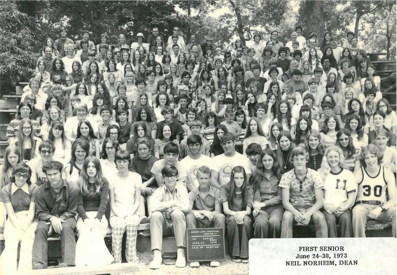 1st Senior Week, June 24-30, 1973 Neil Norheim, Dean