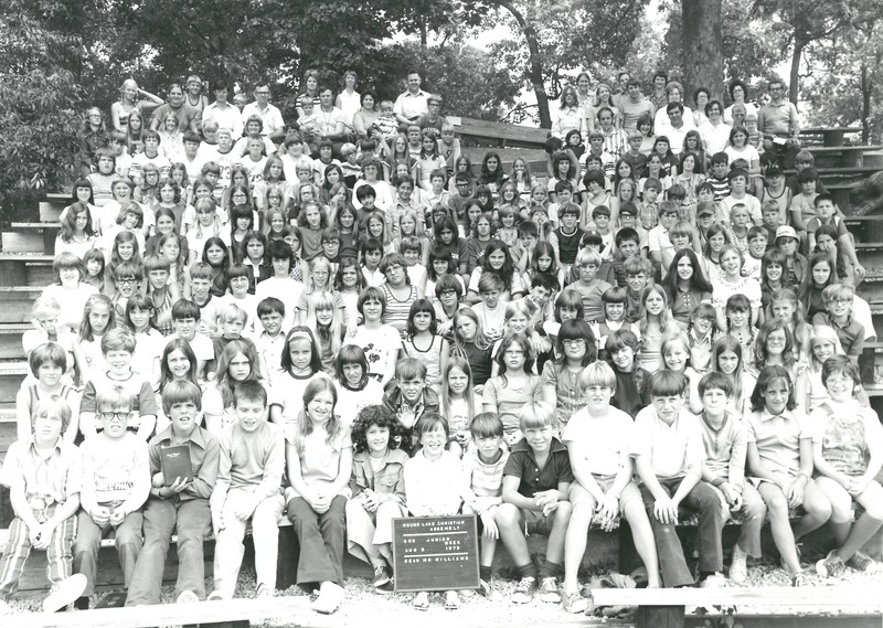 3rd Junior, August 5-11, 1973 Gerald Williams, Dean