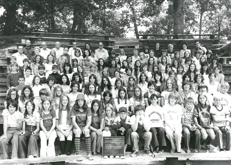 5th Intermediate Week, August 25-30, 1974 Harrison Underwood, Dean