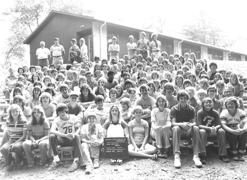 3rd Senior Week, July 24-30, 1977 Tom Smith, Dean