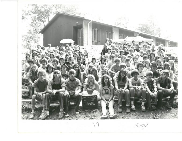4th Senior Week, August 14, 1977 Ken Mulpas, Dean