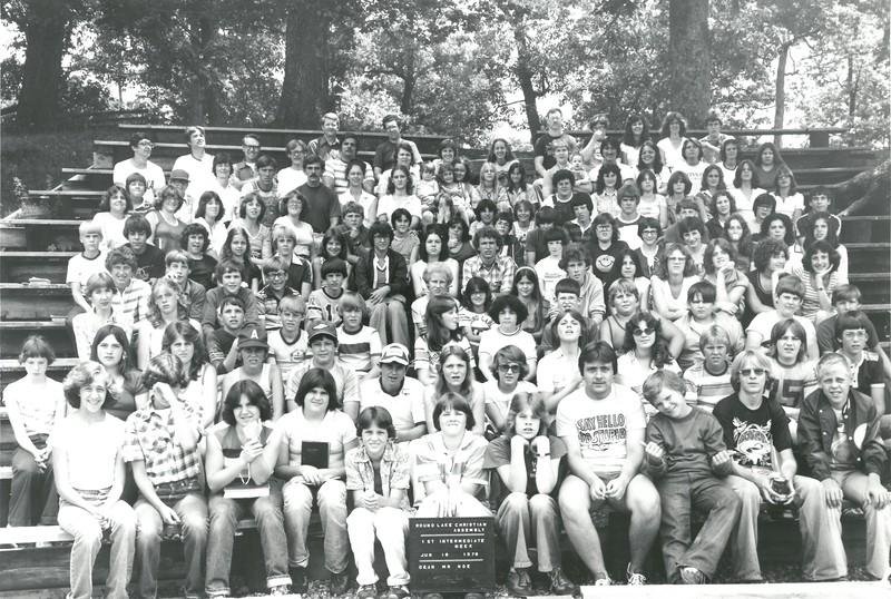 1st Intermediate Week, June 18-24, 1978 Dan Noe, Dean