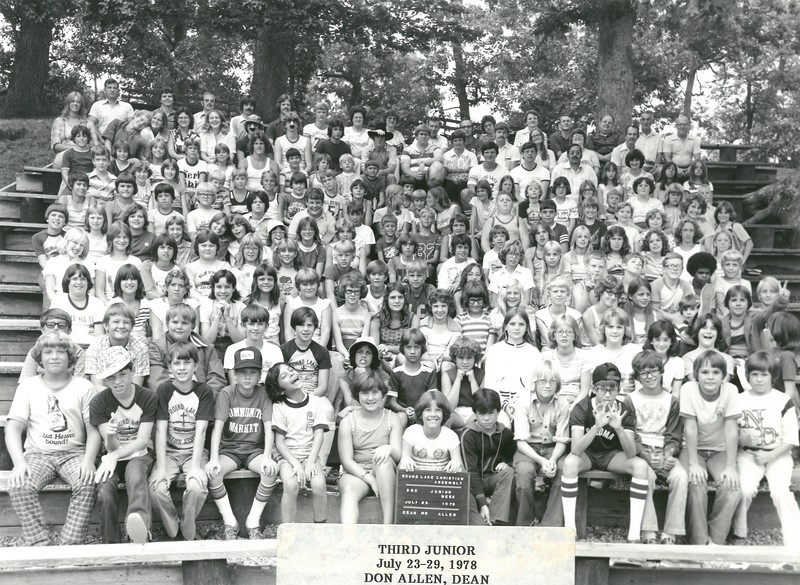 3rd Junior Week, July 23-29, 1978 Don Allen, Dean
