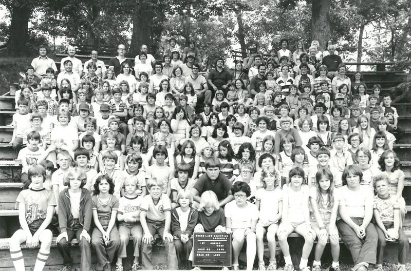 1st Junior Week, June 25-July 1, 1978 David Ladd, Dean