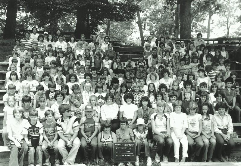 Junior II, July 4-10, 1982 Paul Stebelton, Dean